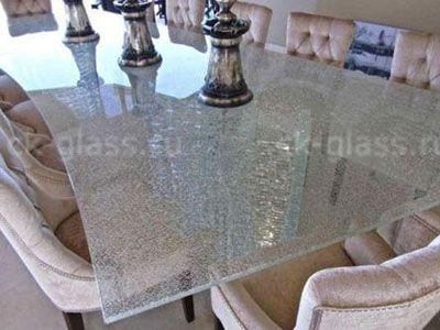 Стеклянные столы фото